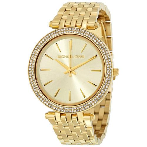 Michael Kors Darci MK3191 Glitz Gold-tone Stainless Steel Womens Watch