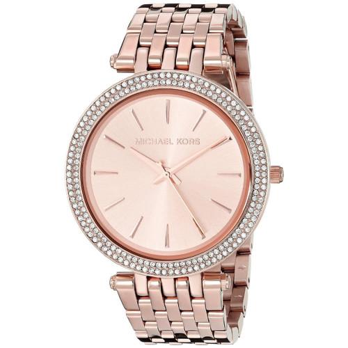 Michael Kors Darci MK3192 Glitz Pave Rose-gold Stainless Steel Womens Watch