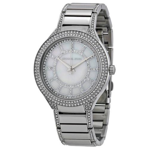 Michael Kors MK3311 Kerry MOP Crystal Stainless Steel Womens Watch