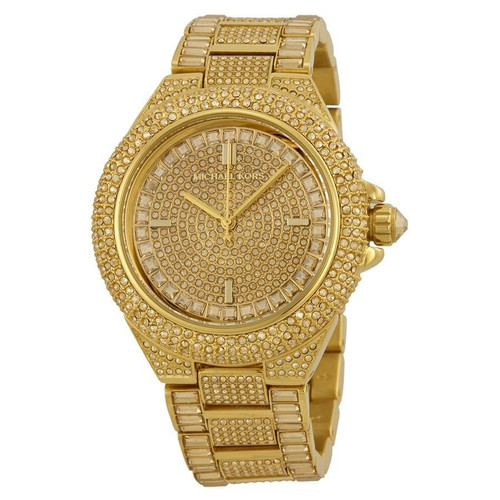 Michael Kors MK5720 Camille Paved Crystal Gold-Tone Womens Watch