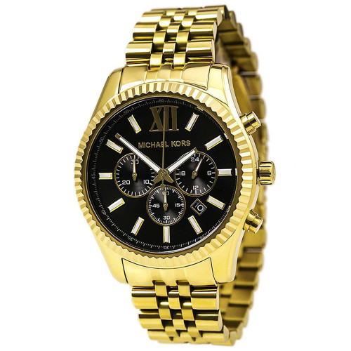 3d994926a958 Quick view · Add to Cart. Compare. Michael Kors MK8286 Lexington Gold-tone  Stainless Steel Chronograph Mens Watch