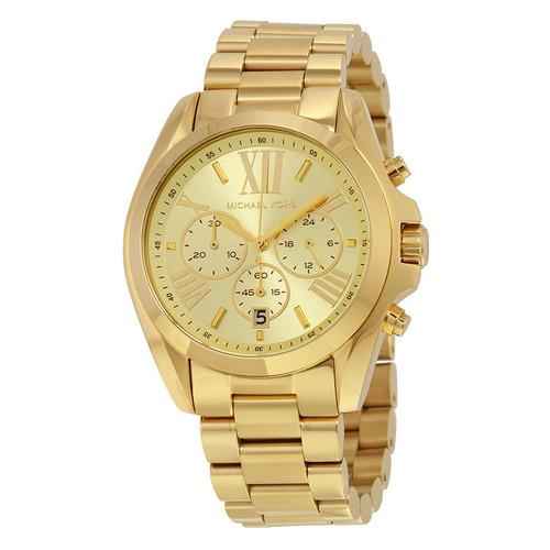 Michael Kors MK5605 Bradshaw Chronograph Gold-tone Stainless Steel Unisex Watch