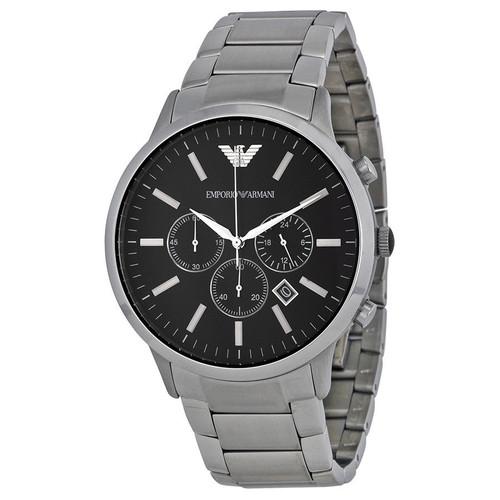 Emporio Armani AR2460 Sportivo Chronograph Stainless Steel Mens Watch