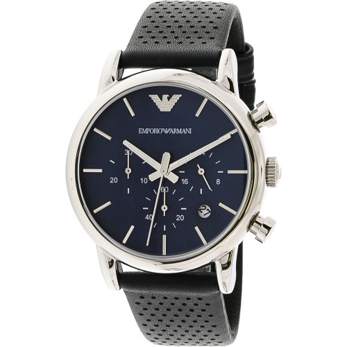 Emporio Armani AR1736 Classic Chronograph Leather Mens Watch