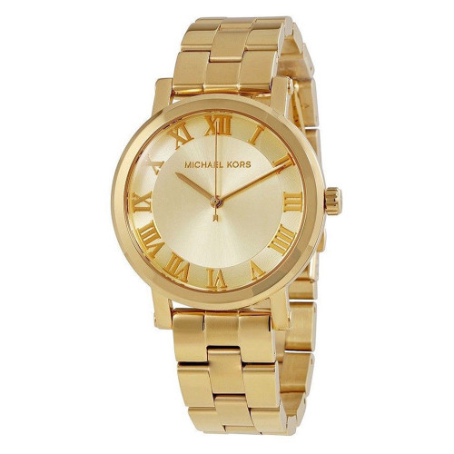 Michael Kors MK3560 Norie Gold-Tone Stainless Steel Womens Watch