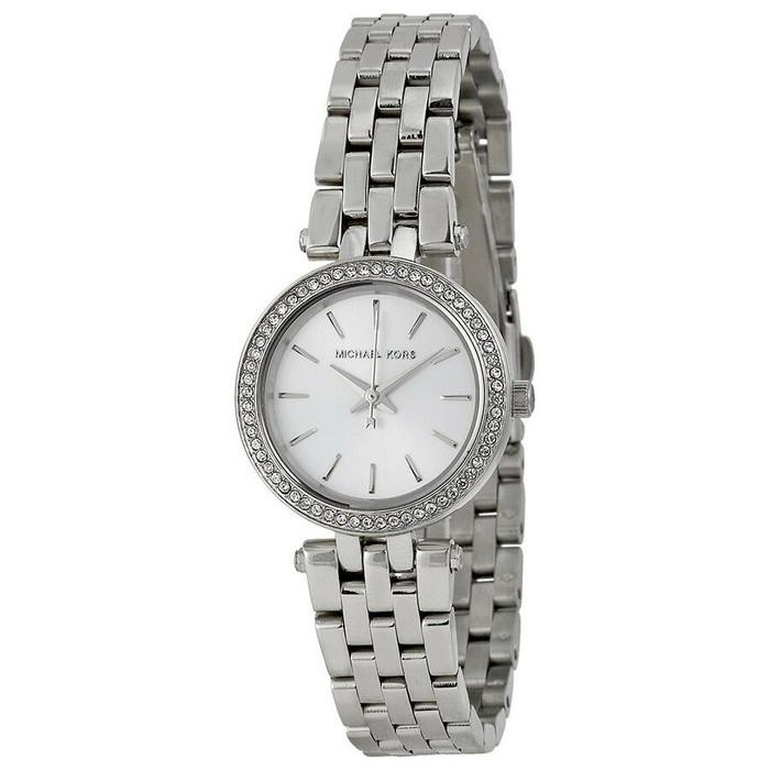 Michael Kors Petite Darci MK3294 Crystal Stainless Steel Womens Watch