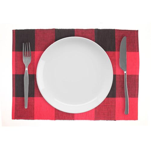 Buffalo Check Cotton Placemats- Set of 4