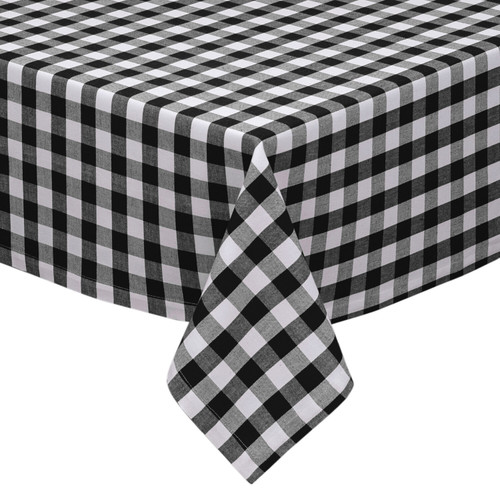 Country Check Cotton Tablecloth