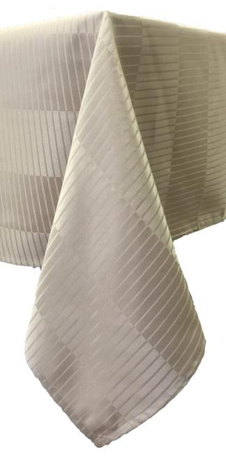 Premium Stripe Table Cloth - Spill Proof