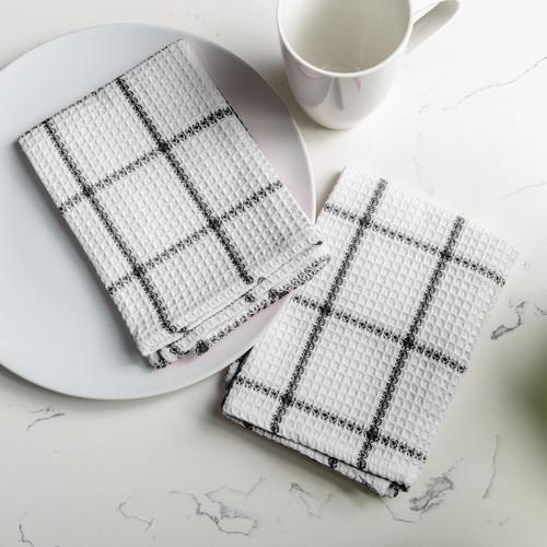 Solo Waffle Cotton Dishcloth - Set of 2