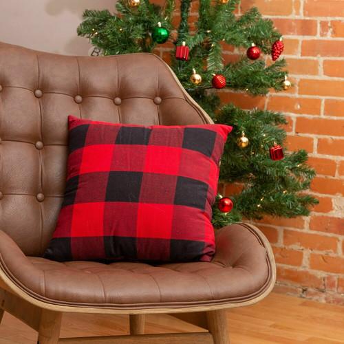 Buffalo Check Cotton Cushion