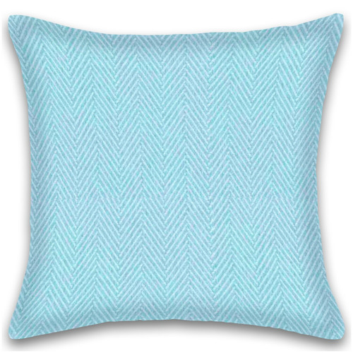 Herringbone Stripe Cotton Cushion