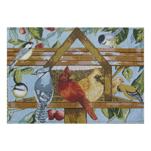 Bird House Tapestry Placemats - Set of 6