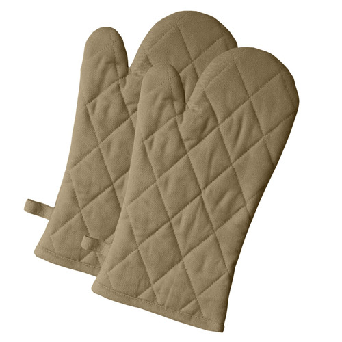 Solo Cotton Oven Mittens - Set of 2