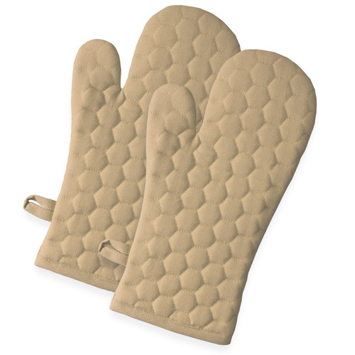Fouta Cotton Oven Mittens - Set of 2
