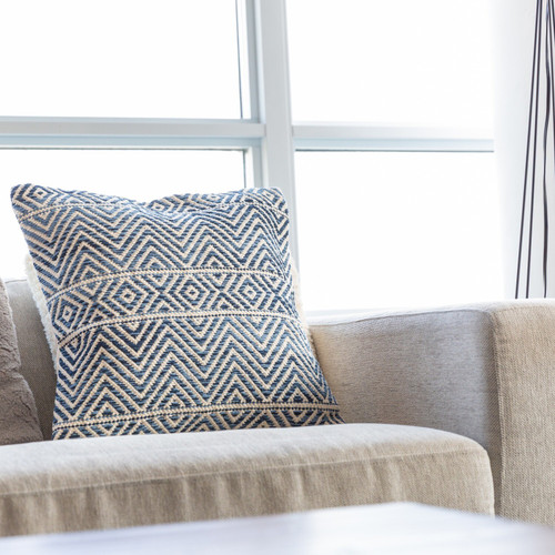 Herringbone Flat Weave Cushion Cover