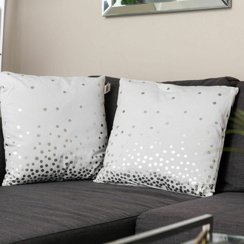 Holiday Lights Cotton Cushions