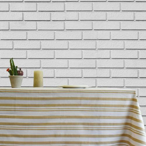 Broadway Stripe Cotton Tablecloth