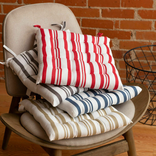 Broadway Stripe Cotton Chairpads