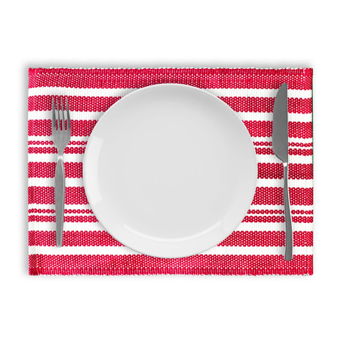 Broadway Stripe Cotton Placemats - Set of 4