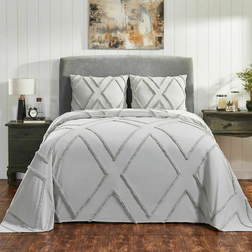 Arizona Tufted Chenille Bedspread Set