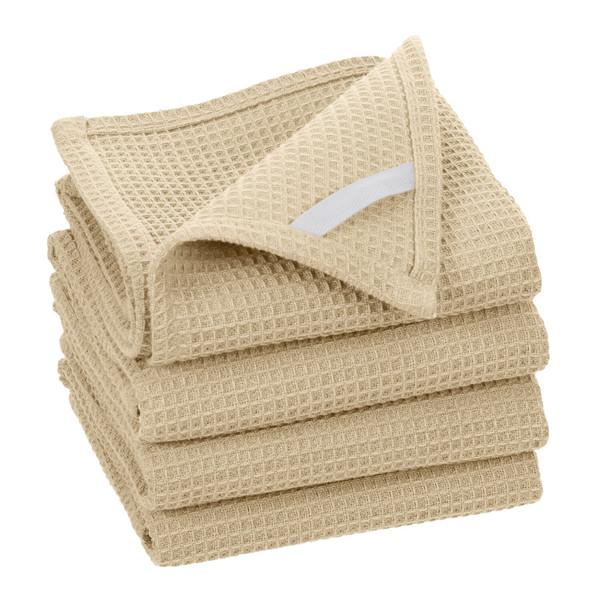 Broadway Waffle Cotton Kitchen Towel