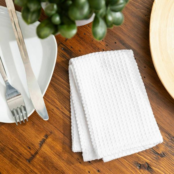 Broadway Waffle Cotton Dishcloth