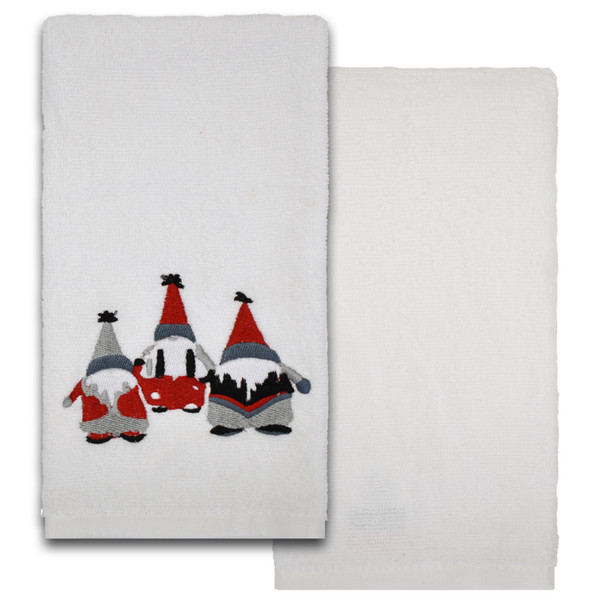 Christmas Cotton Hand Towels - Set of 2