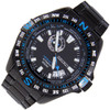 Seiko Limited Edition Analog Black WR100m Mens Sports Watch SSA115J1
