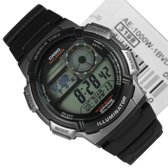 Casio Mens Watch AE-1000W-1B
