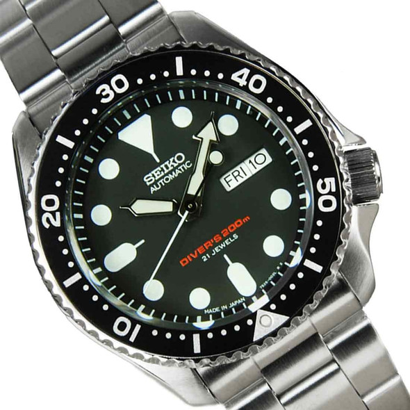 Seiko automatic divers watch 200m SKX007J1 Solid Oyster