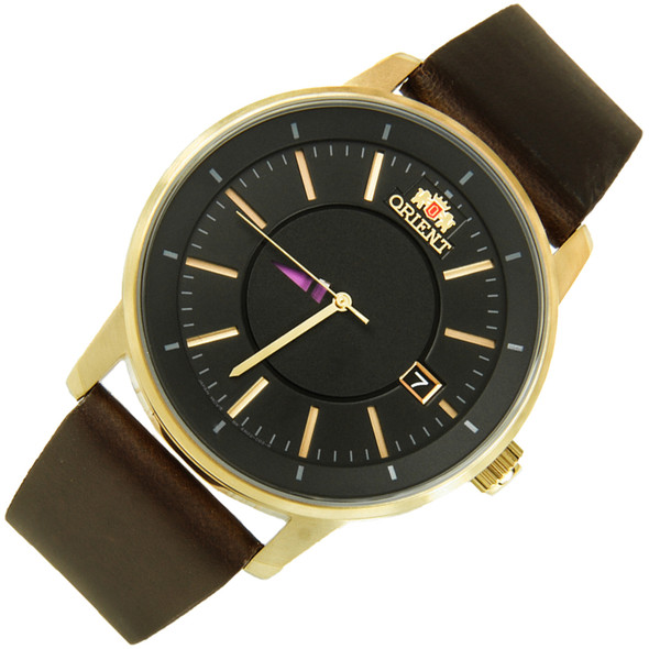 Orient Disk Collection Genuine Leather Automatic Mens Watch ER02007B