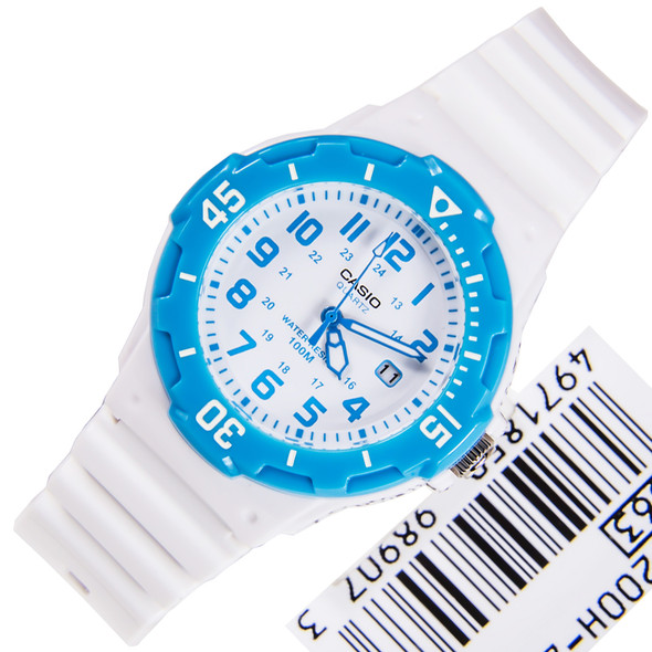 Casio Quartz Analog Blue Ladies Sports Watch LRW-200H-2BVDF LRW200H