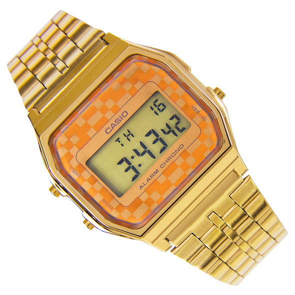 Casio Vintage Gold Quartz Mens Digital Watch A159WGEA-9ADF A159WGEA