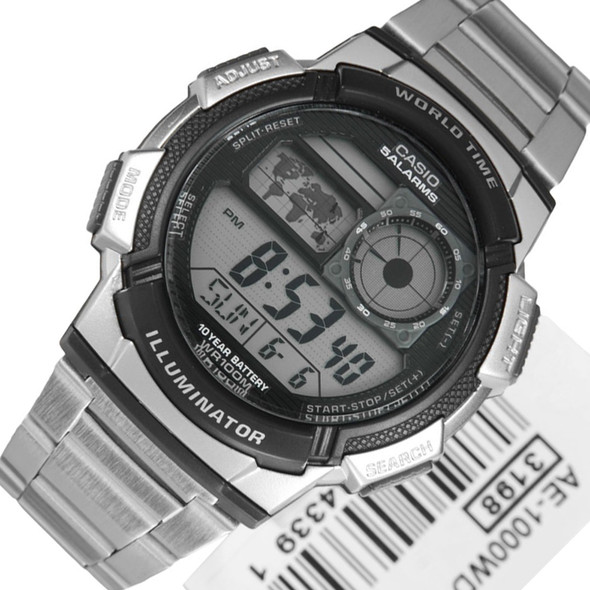 Casio AE-1000WD-1AVDF AE-1000WD-1A Digital Sports Watch