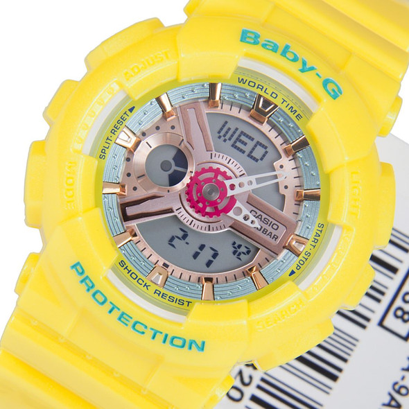 Casio Baby-G BA-110CA-9ADR BA-110CA-9A Womens Watch