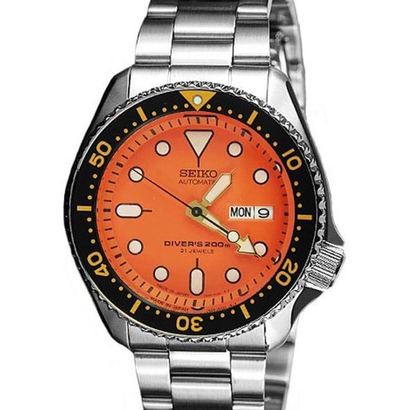SEIKO AUTOMATIC SCUBA DIVER 200M MENS WATCH SKX011J1