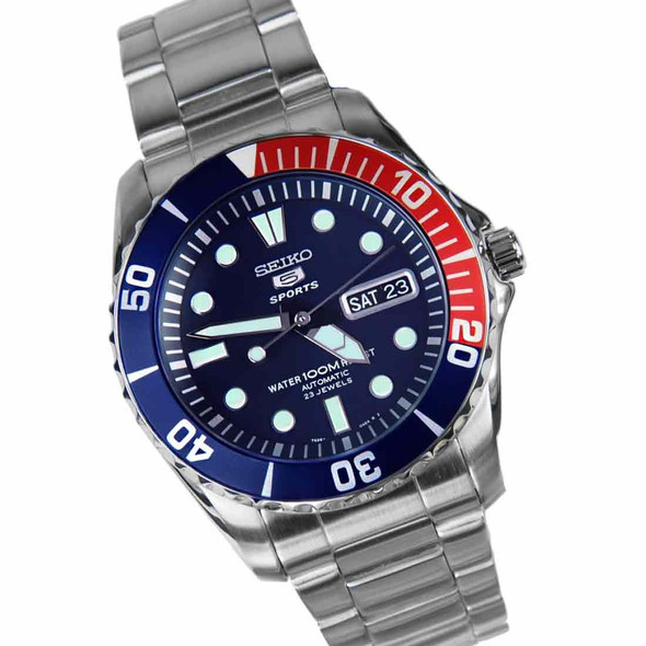 SNZF15K1  Seiko 5 Sports Automatic Mens Diving Watch