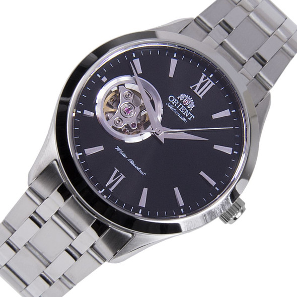Orient Golden Eye Open Heart Watch FAG03001B0 AG03001B