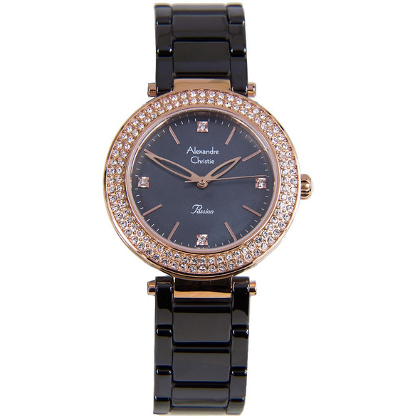 2323LHBRGMA Alexandre Christie Passion Women Diamond Watch