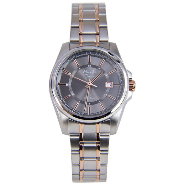 8502LDBTRGR Alexandre Christie Classic Steel Women Watch
