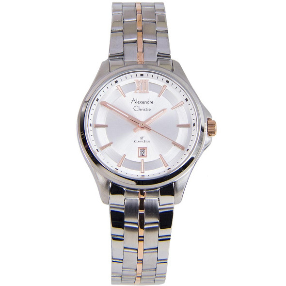 8530LDBTRSL Alexandre Christie Classic Steel Women Watch