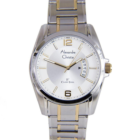 8289LDBTGSL Alexandre Christie Classic Steel Women Watch