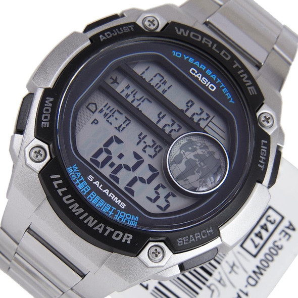 AE-3000WD-1AVDF AE-3000WD-1A Casio Mens Watch