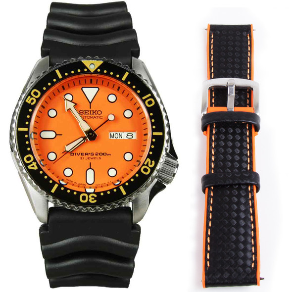 SKX011J1 SKX011J SKX011 Seiko Automatic Divers Watch