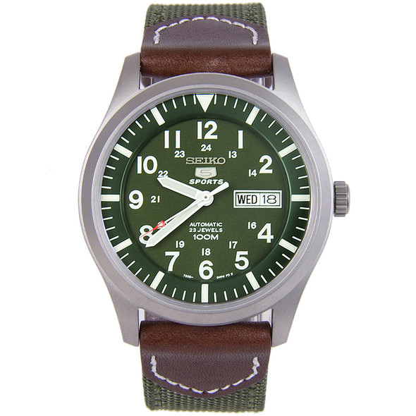 SNZG09K1 Seiko 5 Sports Military Watch