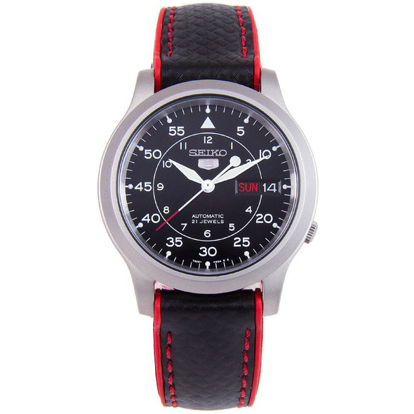 Seiko 5 Nylon Military Automatic watches SNK809