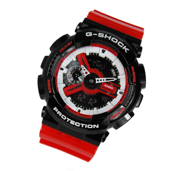 Casio Digital Analog Watch GA-110RB-1A