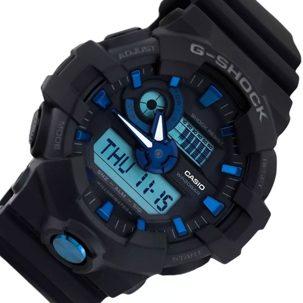 Casio Digital Analog Watch GA-710B-1A2