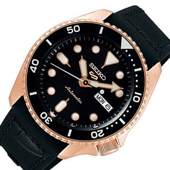 Seiko 5 SRPD76K1 Black Dial Watch